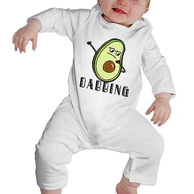 Amazon.com  TREEWw Hip Hop Dabbing Dab Dance Avocado Unisex Baby Romper One  Piece Jumpsuit 100% Cotton Union Suit  Clothing ff6a7862d6e