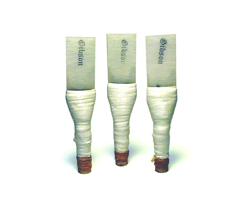 3x GIBSON Practice Chanter Reeds (Dudelsack Rohrblätter) GIBSON BAGPIPES LLC