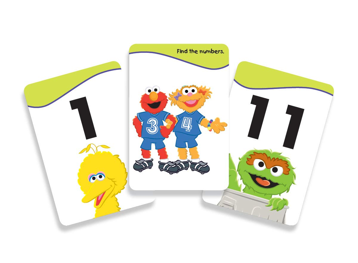 Sesame Street Educational Flashcards Numbers With The Count Kappa Books