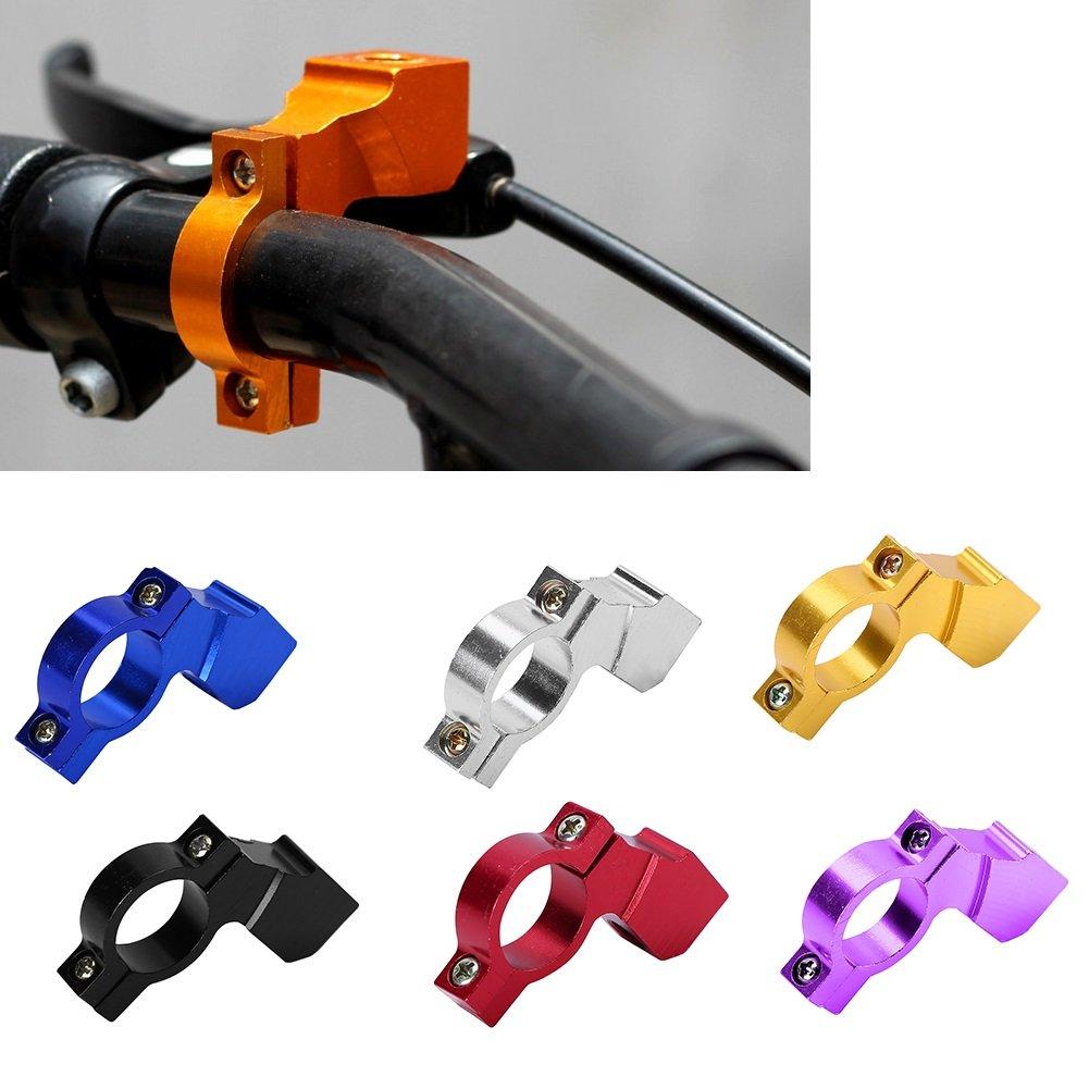 pour Guidons de Diam/ètre de 21 /à 23 mm Adaptateur de Supports de Guidon Base Fixation R/étroviseurs en alliage daluminium durable pour V/élos Motos Scooters