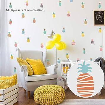 Amazon.com: DIY Colorful Wall Stickers Children\'s Bedroom ...
