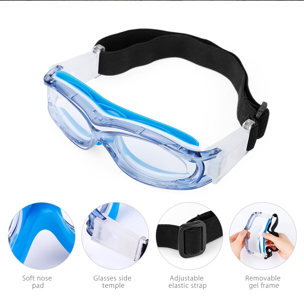 08346ba130 Zorbes FreeBee Kid Outdoor Sport Goggles Safety Glasses  Amazon.in  Sports