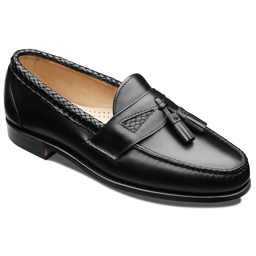 Allen Edmonds Men's Maxfield Tassel Loafer,Black,10 A by Allen Edmonds