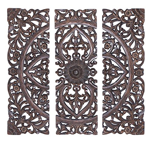 Deco 79 14404 Wood Wall Panel, 36