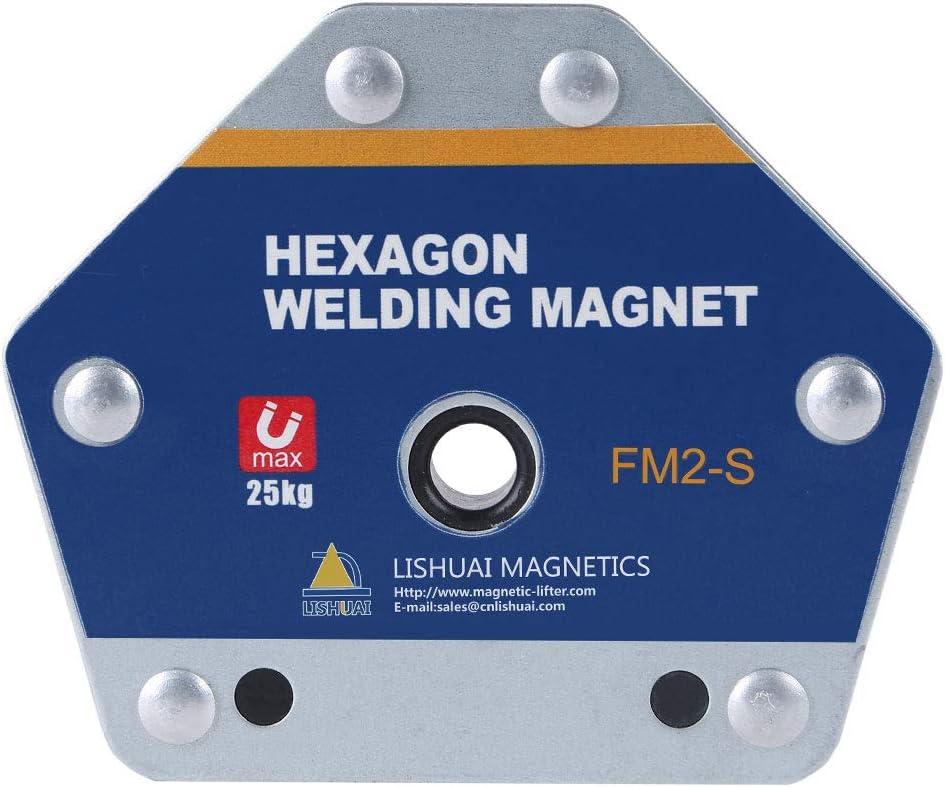 55lb Hexagon Welding Magnet,Multi-Angle Welding Holder