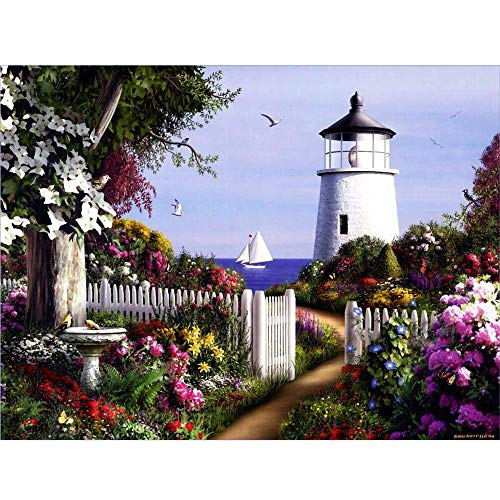 Elevin(TM)  5D DIY Diamond Painting Embroidery Square Diamond Home Decor Gift ()