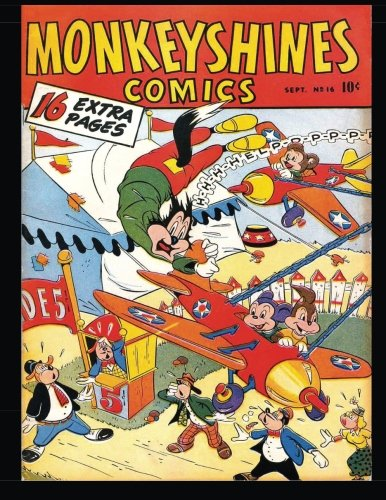 Monkeyshines Comics #16: Golden Age Funny Animal Comic 1947