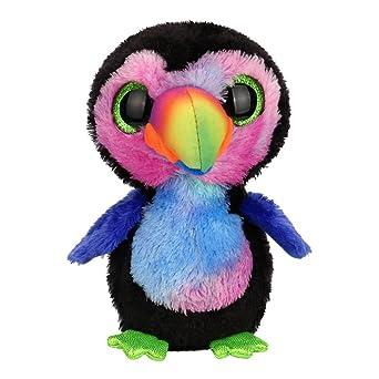 Juguete de peluche de pato Acuarela., mamum ojos grandes peluche animales muñeca bebé de