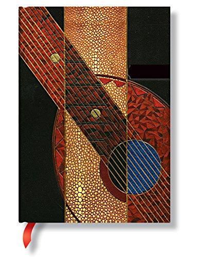 Literarisches Art Deco Serenade - Notizbuch Midi - Unliniert - Paperblanks