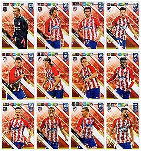 PANINI ADRENALYN XL FIFA 365 2019 - Todas Las TARJAS (12) Atletico ...