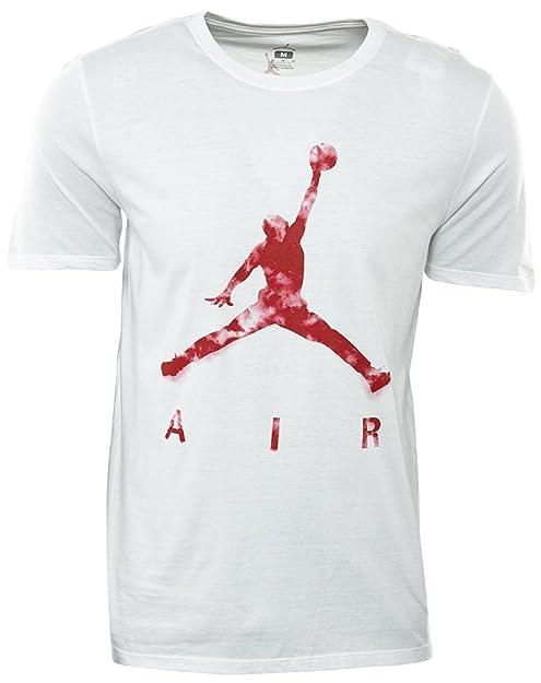 4b536463552b3b Jordan Jumpman Air Dreams T-Shirt Mens Style  801074-100 Size  S   Amazon.ca  Shoes   Handbags