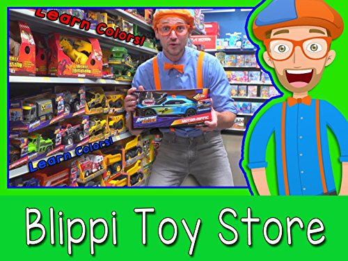 Learn Colors At The Blippi Toy Store
