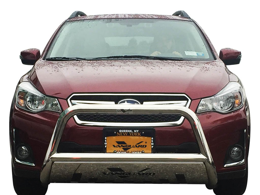 Amazon com vanguard vgubg 1212 1157ss 2015 2017 subaru outback bull bar with skid plate s s automotive