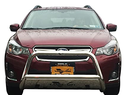 VANGUARD Off Road VGUBG-1212-1157SS For Subaru Outback 2014-2019 Bumper  Guard Stainless Steel Bull Bar with Skid Plate