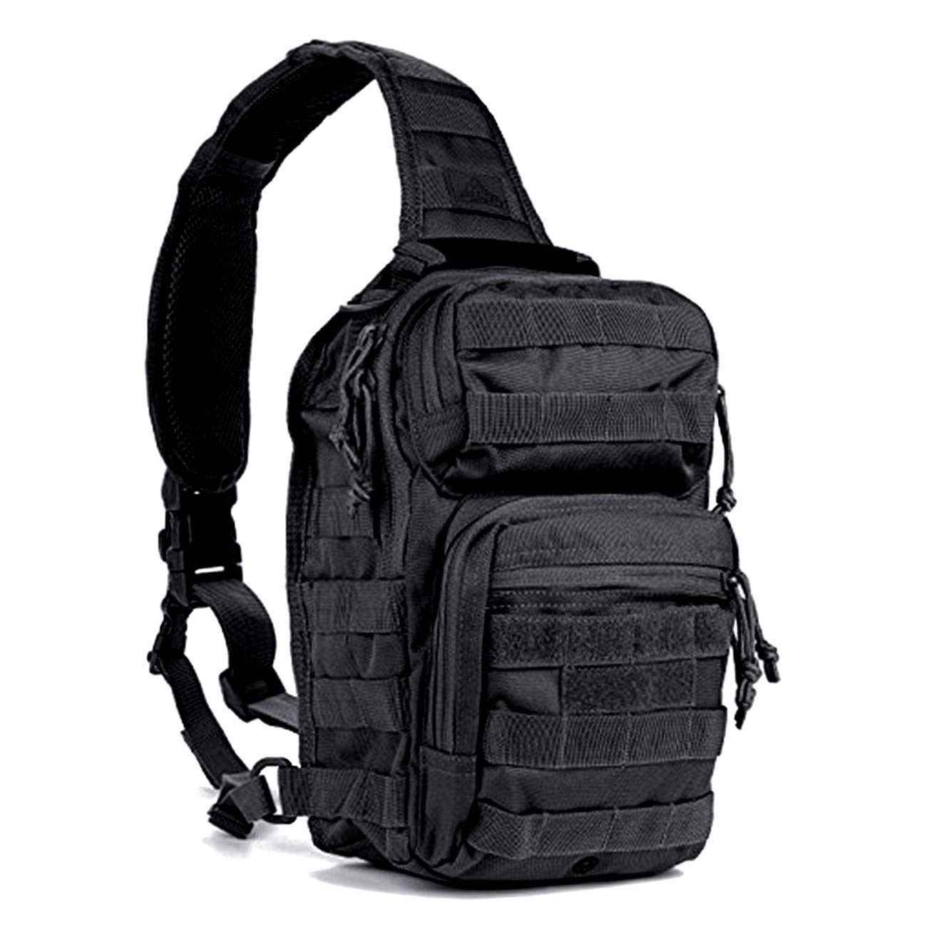 Camping & Hiking Unisex Military Tactical Chest Pack Nylon Cross Body Sling Single Shoulder Bag Fishing Camping Equipment Selling Well All Over The World Climbing Bags