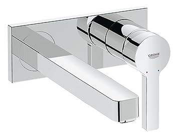 Grifo de lavabo Cuerpo liso  tama/ño S 19575001 Ref Grohe Concetto montaje en pared