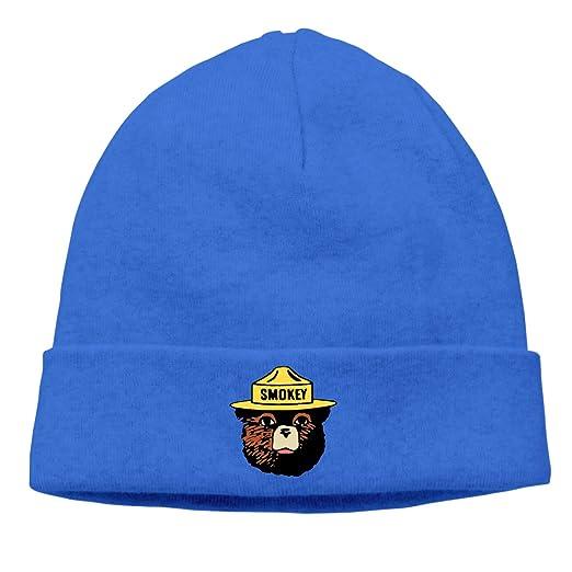 XianNonG Beanie Hat for Men Women - Smokey The Bear Keep It Green Unisex  Cuffed Plain Knit Cotton Hat Cap Fashion Personality Word Winter Thermal  Hair Hat ... c3edcb80de9