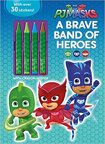 Amazon.com: Pj Masks a Brave Band of Heroes (9781474896481): Parragon: Books