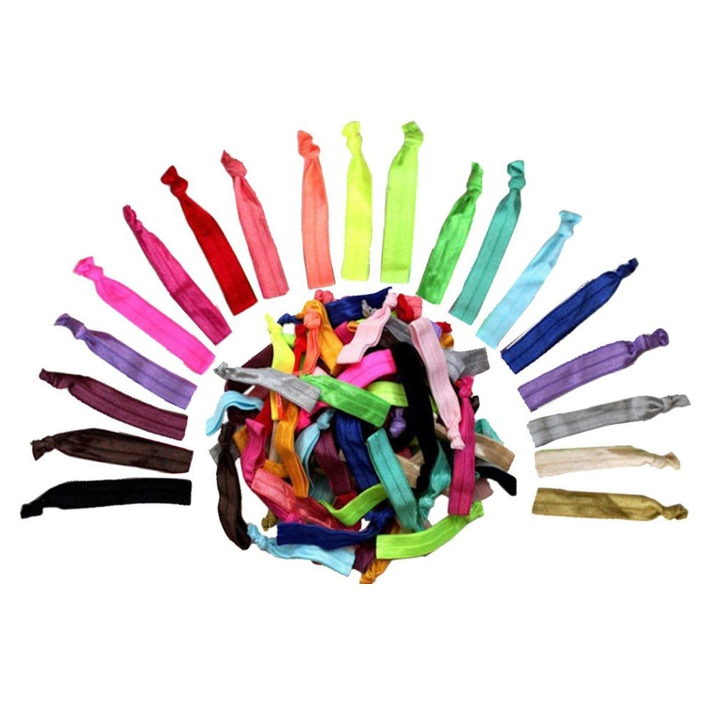 Z-Comfort Fashionable Women's Stretchable Hair Ties, Assorted, 6 Oz