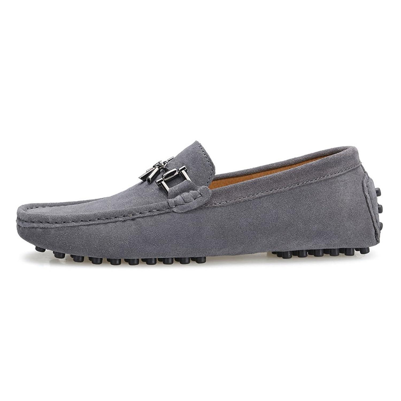 Baymate Homme Confort Mocassines Chaussures de Conduite avec La Semelle  Antidérapant Gris Asia 43 (26.5cm): Amazon.fr: Chaussures et Sacs