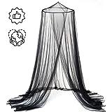 Mosquitero para Camas, Uplayteck Bed Canopy Mosquitera de Cúpula, Protección Contra Mosquitos, Suave y Cómodo, Adecuado…