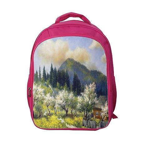 d40b7448d5c5 Amazon.com: iPrint School Bags Kid's Backpacks Fashion,Landscape ...