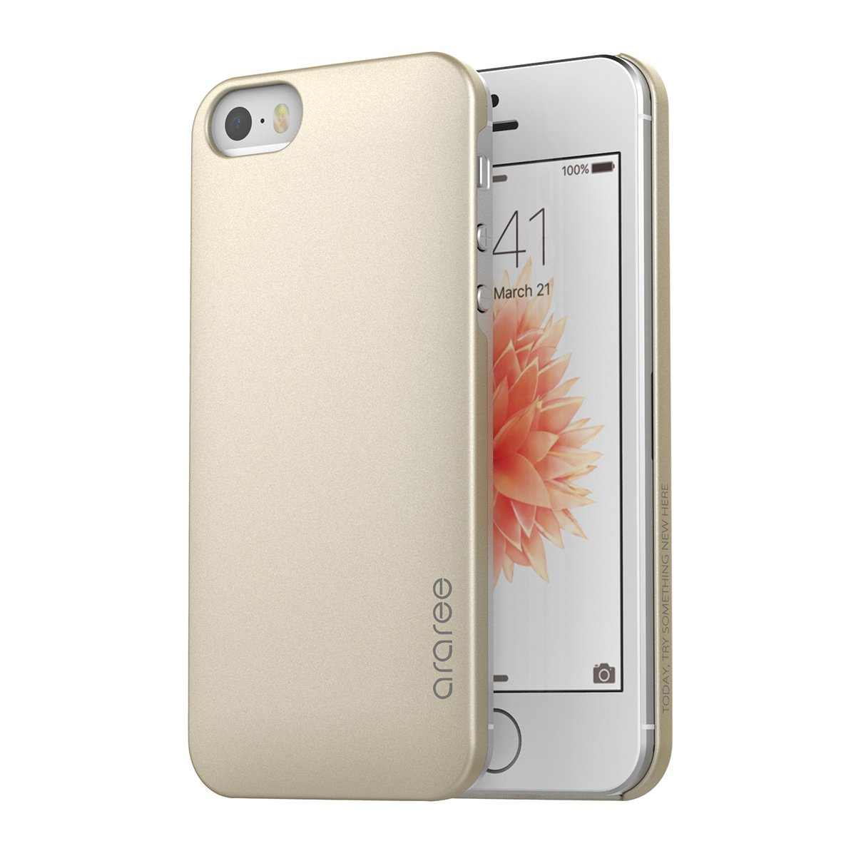 Iphone Se Case Araree [Half] Ultra Slim And Superb Grip Convenient Card Stora.. 18