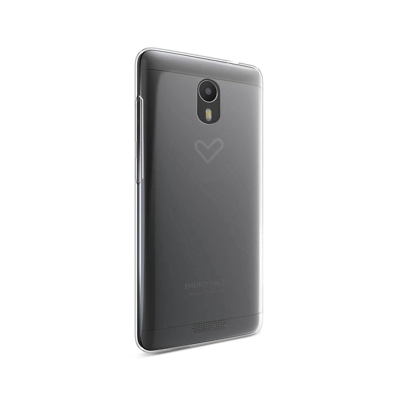 Energy Phone Case MAX 3+ (Ajuste, Resistente a los Golpes), Transparente