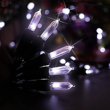 Solar String Lights, 50 LED M5 Clear Mini Fairy Christmas Lights Decor  Timer Outdoor Christmas - Amazon.com : Solar String Lights, 50 LED M5 Clear Mini Fairy