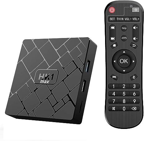 Promoción】 Android 10.0 TV Box- Bqeel TV Box 4GB+64GB RK3328 Quad-Core 64bit Cortex-A53 con Dual-WiFi 2.4GHz/5GHz, BT 4.0, 4K*2K UHD H.265, USB 3.0 Smart TV Box: Amazon.es: Electrónica