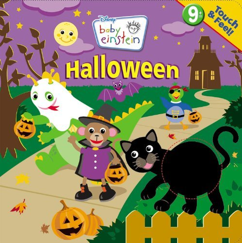 By Marcy Kelman Baby Einstein: Touch and Feel Halloween (A Touch-and-feel Book) (Act Mus Br) for $<!--$53.96-->