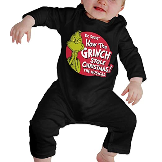 Amazon Com Tiakudy The Grinch Dr Seuss Santa Baby Boys Girls Long