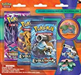 Pokemon TCG, Blister Pack Containing 3 Booster Packs And Featuring Mega Venusaur or Mega Blastoise Collector's Pin