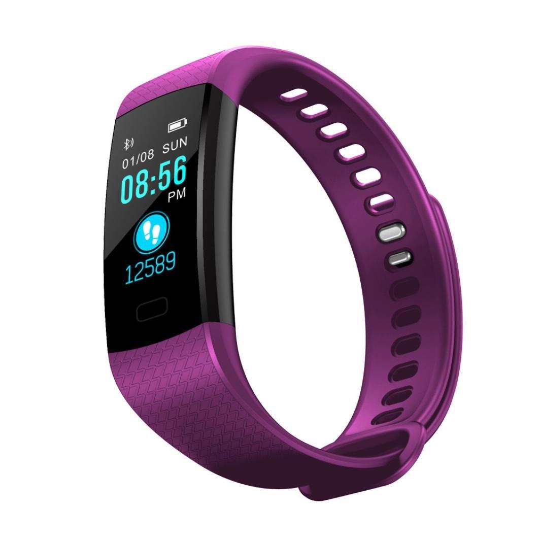 igemy Y5 Sport Smart Watch Fitness Actividad de frecuencia cardíaca Tracker Tensiómetro de reloj: Amazon.es: Electrónica