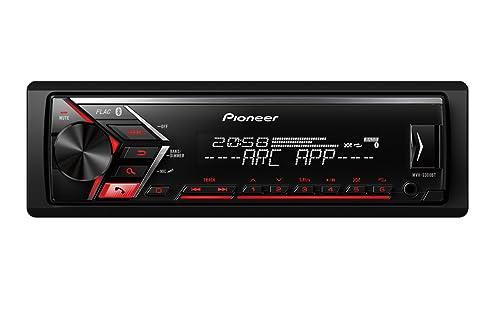 Pioneer MVH-S300BT – Per un suono estremamente chiaro