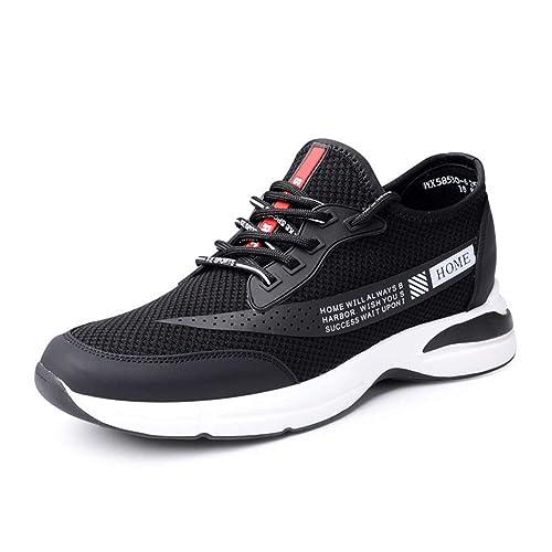 Amazon.com: GOG Otoño Zapatillas de Moda para Hombre Altura ...