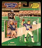 PEYTON MANNING / INDIANAPOLIS COLTS 1999-2000 NFL Starting Lineup Action Figure & Exclusive NFL Collector Trading Card
