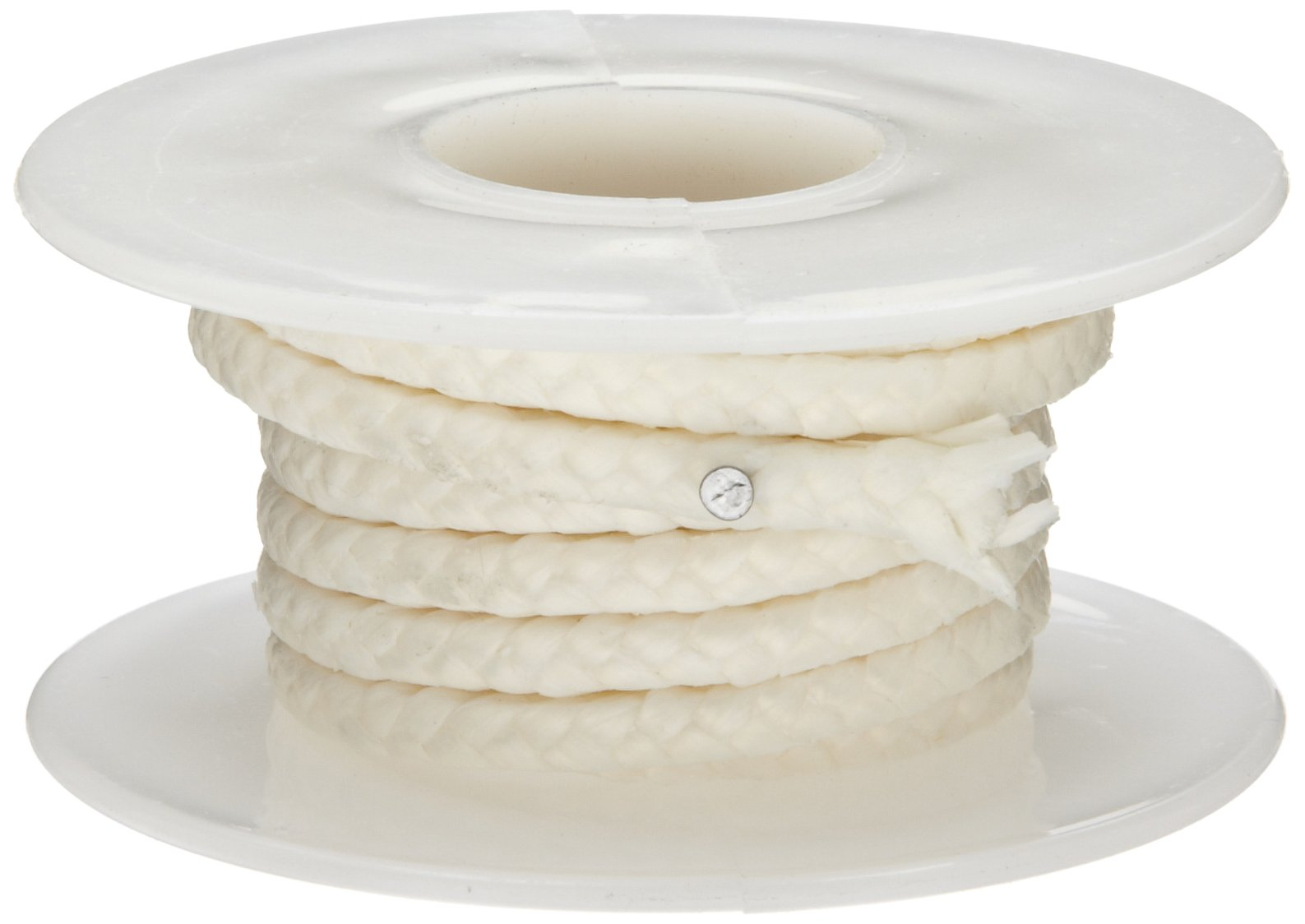 Palmetto 1371 Series Meta-Aramid Compression Packing Seal, White, 5/8'' Square, 5' Length