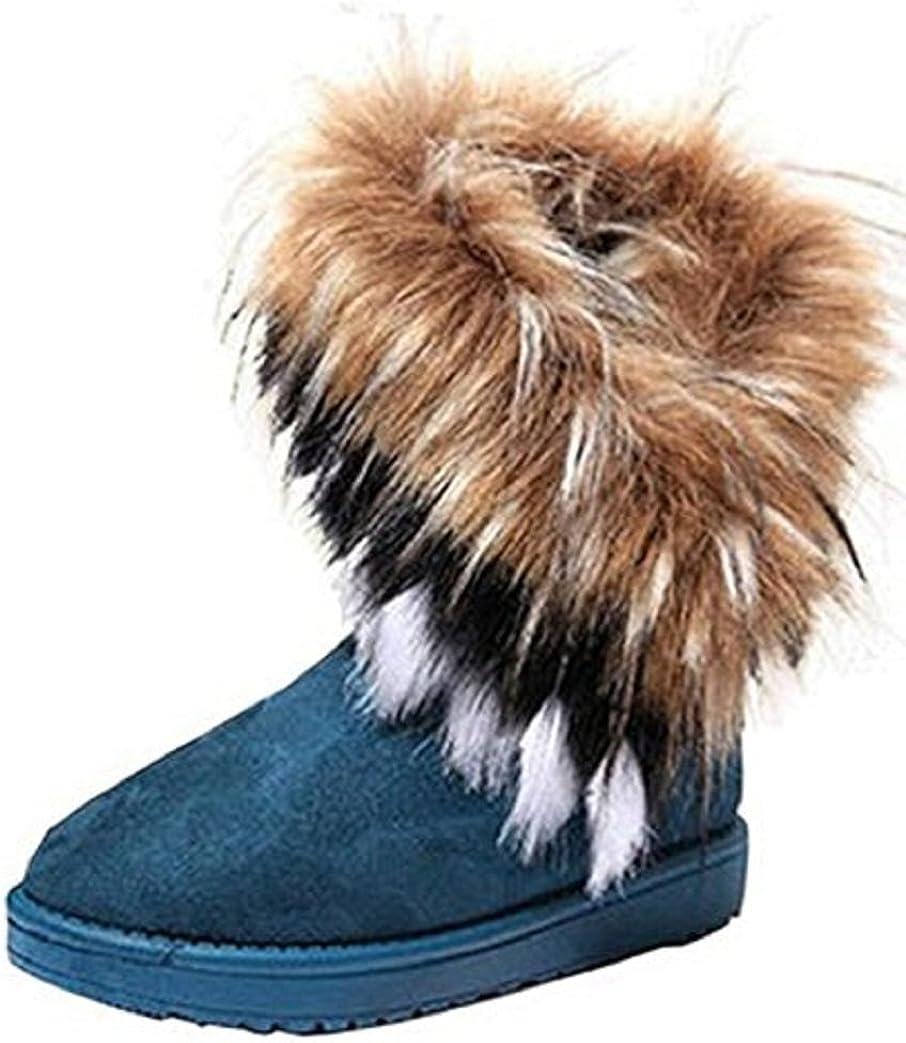 Women/'s New  Tassel Faux Suede Winter Boots