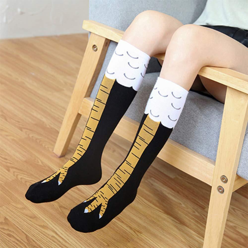 FGRYB Chicken Claw Socks Mid-calf Crazy Halloween Sock Novelty Socks for Yoga
