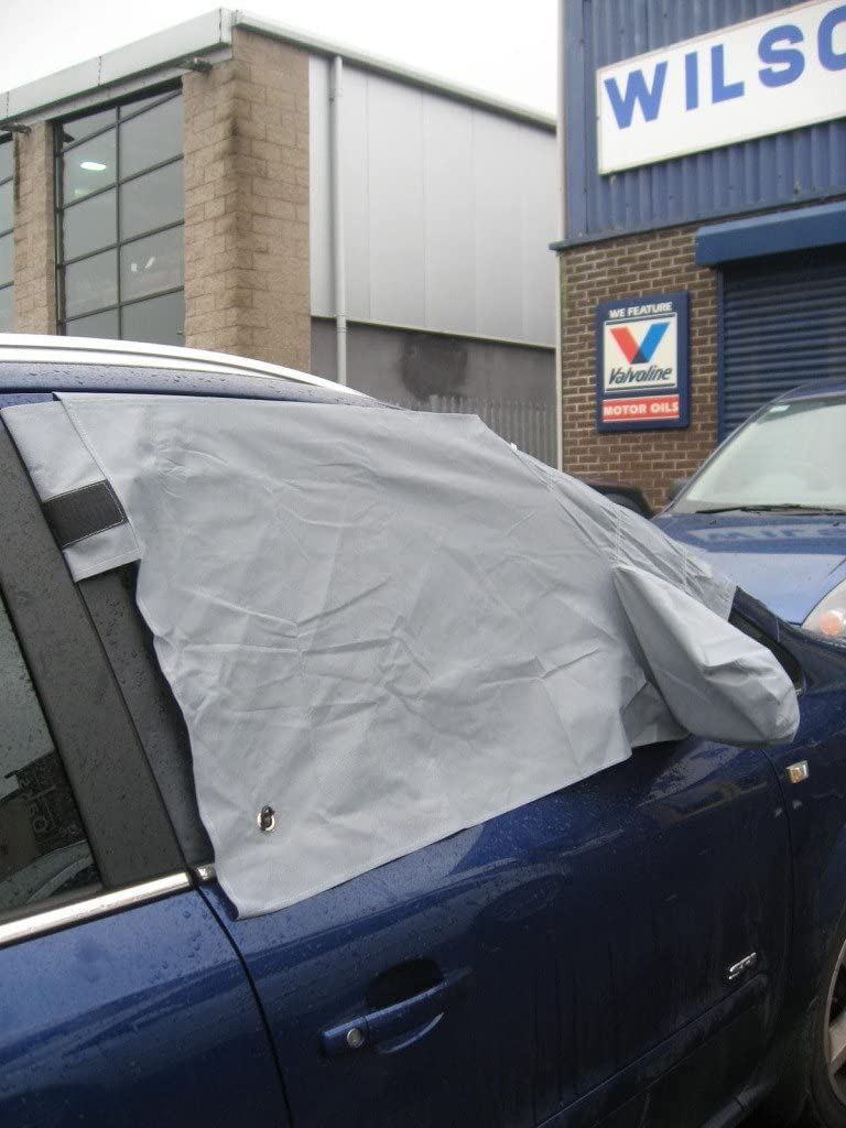 wlw Hyundai i20 09 on WINDSCREEN FROST ICE SNOW PROTECTOR MIRRORS COVER CAR