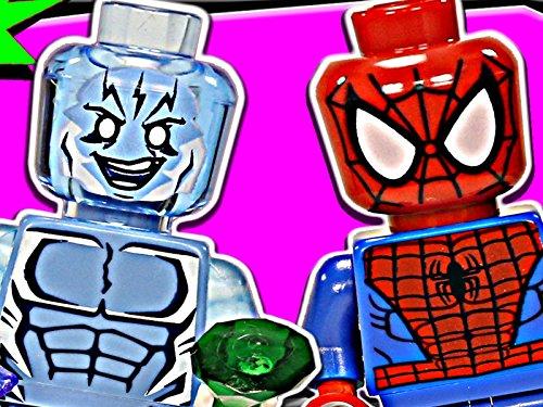 Clip: Spider-Trike vs. Electro (Mech Building Kit)