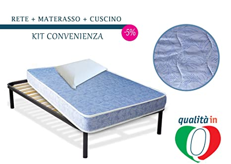 InMaterassi Kit Filomena, materasso una piazza e mezza pieghevole ...