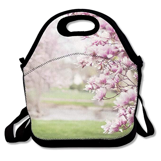 Amazoncom Magnolia Trees Portable Carry Insulated Lunch Bag
