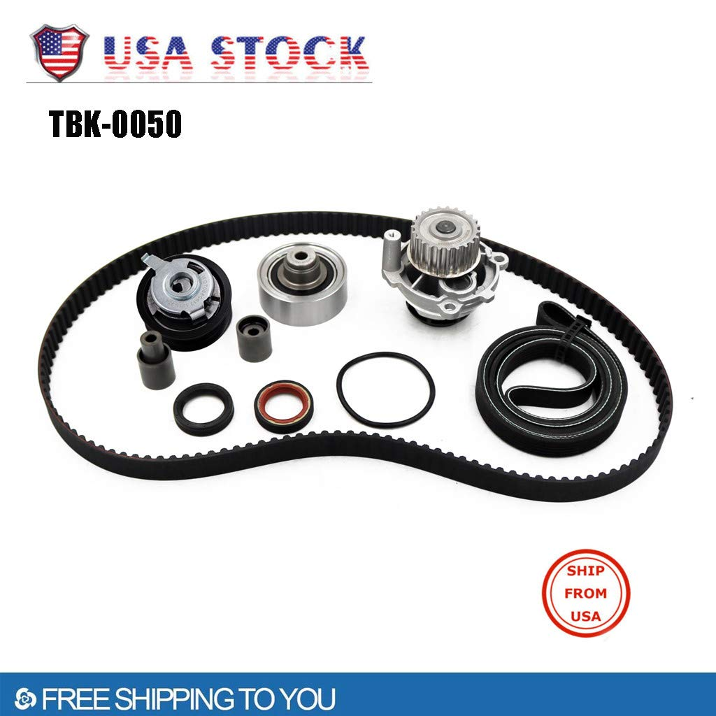Automatic Tool Set, Vithconl Timing Belt Kit Water Pump for 99-03 V W Golf Jetta Beetle TDI 1.9L ALH (Ship from US)