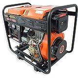 Gerador de Energia a Diesel 4T Partida Eletrica e Manual C/Bateria 7.500kVA Bivolt-VULCAN-VGE-6000D
