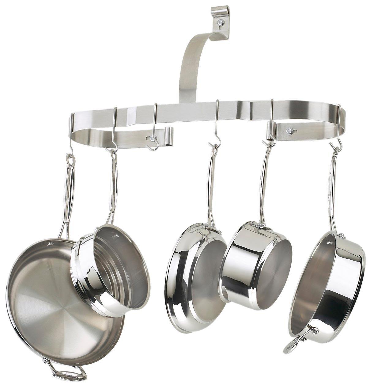 Amazon.com: Cuisinart CROW 25B Oval Cookware Rack: Kitchen Pot Racks:  Kitchen U0026 Dining