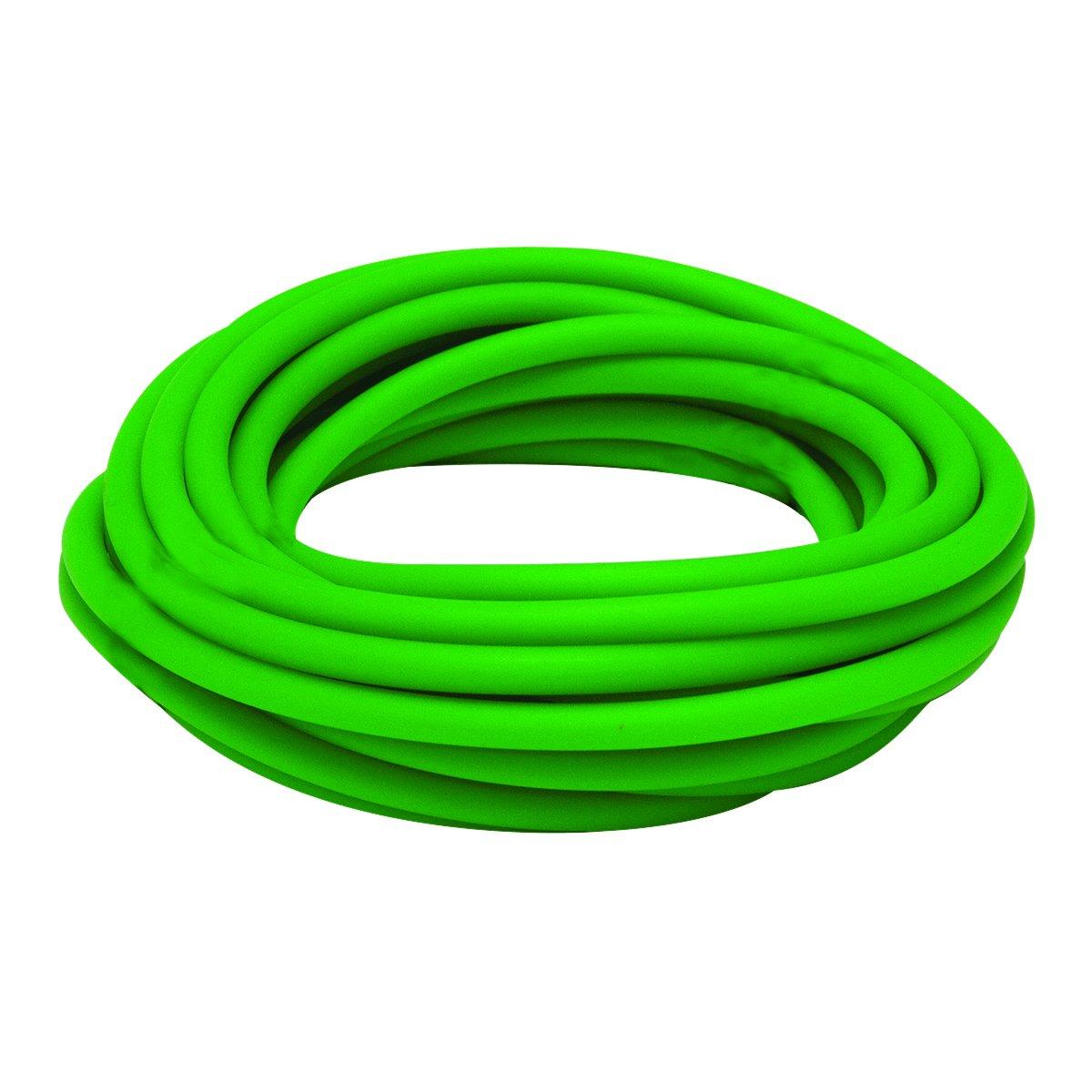 medium 25/' roll CanDo Latex Free Exercise Tubing Green
