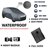Fabtec Original Waterproof Double Stitched Blue Light Weight Car Body Cover For New Toyota Liva