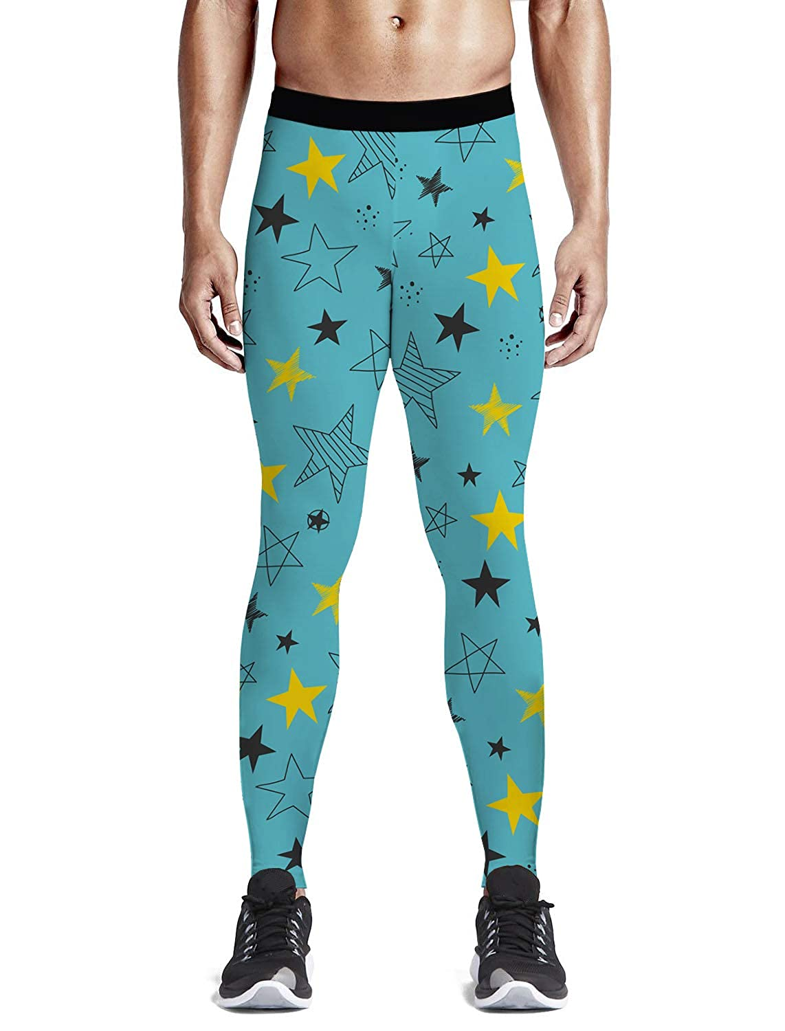 QG ZZX Fairy Girl and Tree Colorful Women Yoga Leggings Compression Yoga Pants